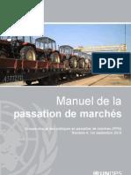 UNOPS Procurement Manual FRENCH