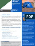 Safety Risk Assessment 22 - 23 January 2012 Dubai, UAE