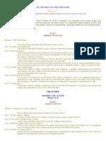 The 1997 Rules of Civil Procedure 1-13