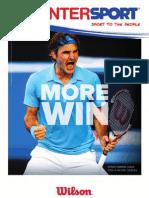 catalogo Interport tenis y pádel