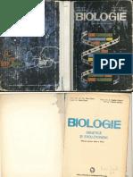 Manual Biologie XII 1982