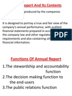 Company Act Provision, Annual Report and Auditiors Report_1
