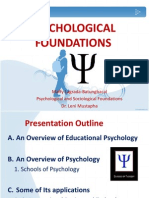 Pschological Foundation
