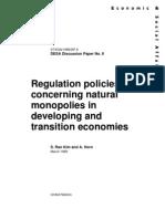 Regulation Policy