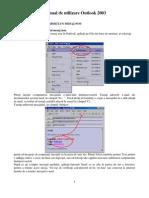 Manual de Utilizare Outlook 2003