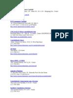 Listagem Firmas