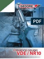 Gedore - Ferramentas Isoladas VDE NR10
