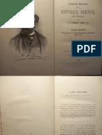 BOSQUEJO HISTÓRICO DE LA REPÚBLICA ORIENTAL DEL URUGUAY -- Francisco Berra