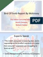 Bird of Gold-Report by Mckinsey Final