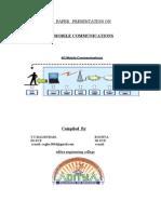 4g Mobile Communications