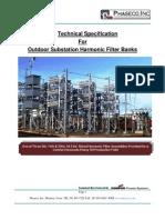 Substation Filter BankSpecs