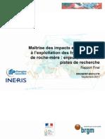 Note GHRM Maitrise Des Risques Et Impacts