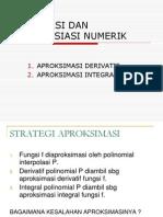Integrasi Dan Diferensiasi Numerik