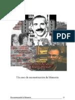 Un caso de reconstrucción de Memoria. Fernando Pequeño reconstruye a su abuelo Miguel Ragone. (c) 2006