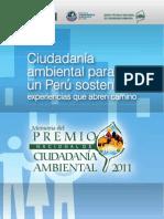 Cartilla Ganadores Premio PNCA 2011