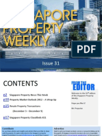 Singapore Property Weekly Issue 31