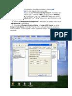 Configuração impressora only text