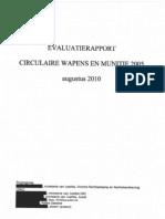 Evaluatie CWM2005 Aug 2010