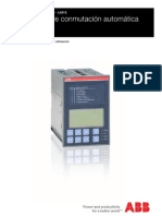 Dispositivo de Conmutacion Automatic A ATS22