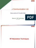 Rf Modulation Tecniques