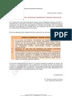 Rondas Campesinas y Rondas Comunales - Requisitos Registrales