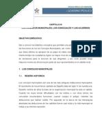 Capitulo III Los Concejos Los Concejales y Acuerdos