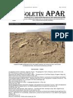 Articulo sobre Firma de la Declaración de Defensa de Petroglifos de Toro Muerto en Boletín APAR  Vol 3 No 10
