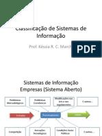 Classificacao de Sistemas de Informacao II