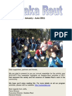 Sadaka Reut June 2011 Newsletter Final