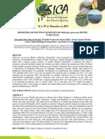 Biometria de Frutos e Sementes de Dalbergia Spruceana Benth Fabaceae