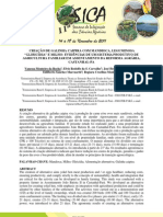 """CRIAÇÃO DE GALINHA CAIPIRA COM MANDIOCA, LEGUMINOSA """"GLIRICÍDIA"""" E MILHO - EVIDÊNCIAS DE UM SISTEMA PRODUTIVO DE AGRICULTURA FAMILIAR EM ASSENTAMENTO DA REFORMA AGRÁRIA, CASTANHAL-PA"""