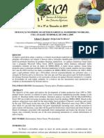 MUDANÇAS NO PERFIL DO SETOR FLORESTAL MADEREIRO NO BRASIL - UMA ANALISE TEMPORAL DE 1998 A 2009