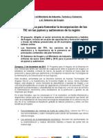 Nota de Prensa TIC Aragón 2 Diciembre