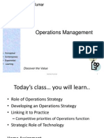 Intro to Operations Mgmt