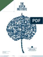 2007 Aspen Institute Annual Report