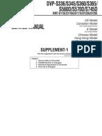 DVP S336,Manual