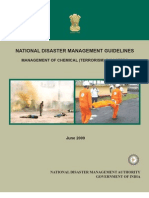 Chemical Terrorism Disaster