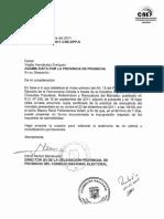 REVOCATORIA DE MANDATO