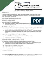 Meeting Minutes - 9-28