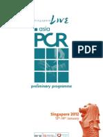 AsiaPCR Prelim Programme