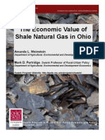 Economic Value of Shale Natural Gas in Ohio by The Ohio State University, December 2011