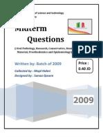 Mid-term Qs 2009