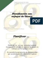 PLANIFICACIÓN CON ENFOQUE DE GÉNERO