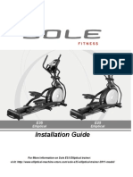 SOLE e35 Installation Guide