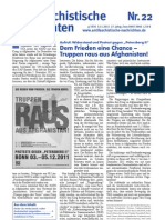 antifaschistische nachrichten 2011 #22