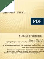 Concept of Logistics & SCM ,4PL