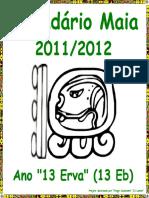 Calendário Maia 2011-2012