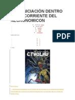 AUTOINICIACIÓN DENTRO DE LA CORRIENTE DEL NECRONOMICON