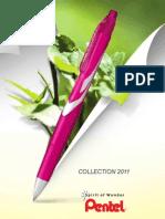 Pentel Catalogue France 2011