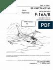 Flight-Manual F-16A/B (T.O. 1F-16A-1)